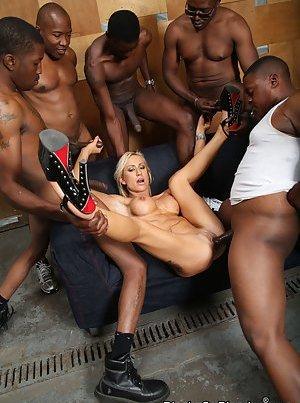 Interracial Gangbang Pictures